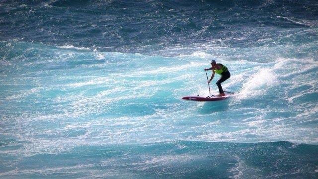 Downwind Didier Leneil SUP