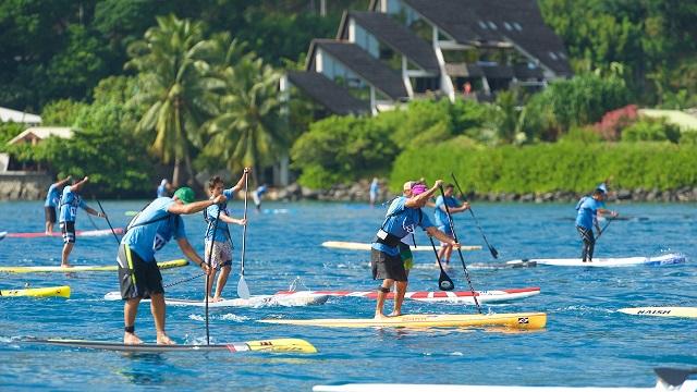 SUP Race Tahiti