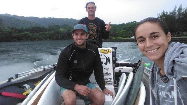 Titouan et Olivia AF Paddle