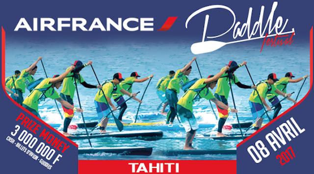 air france paddle festival 2017