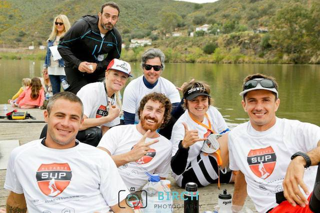 Leonard Nika and friends at the Guadiana Challenge, Portugal