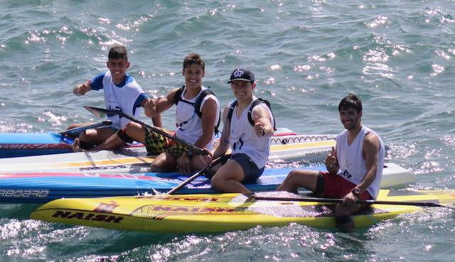 Junior Stand Up paddle racing Portugal