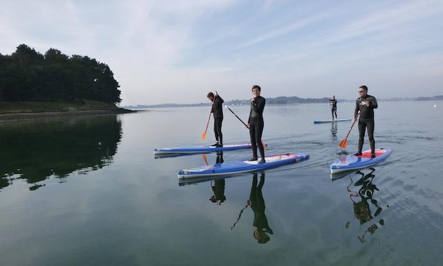 Du Paddle dans le Morbihan