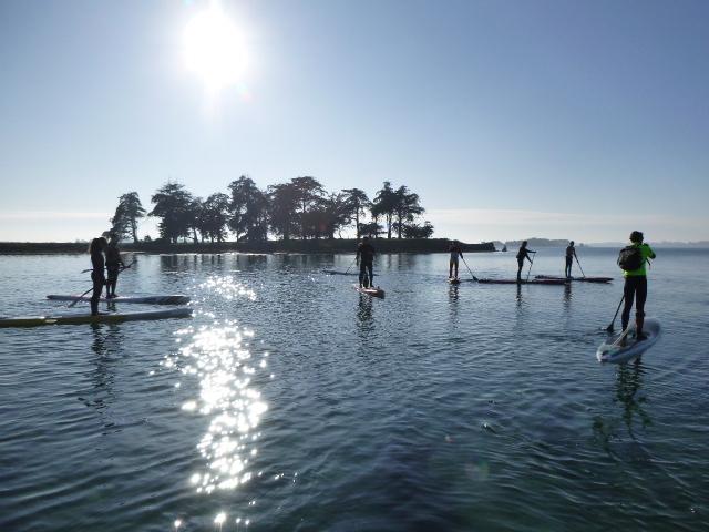 En paddle au Morbihan