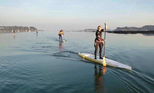 Le Golfe du Morbihan en Paddle avec Paddle Expérience
