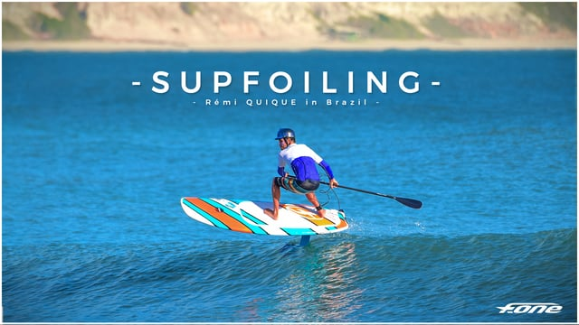 Rémi Quique Makes Use of a Wonderful Brazilian Backdrop for SUP Foil