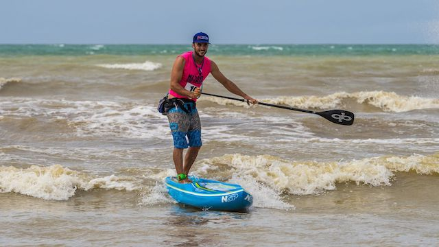 Double Strike for Titouan Puyo and Annabel Anderson at the NZ SUP Nationals