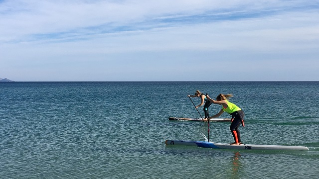 Paddle training session intensive