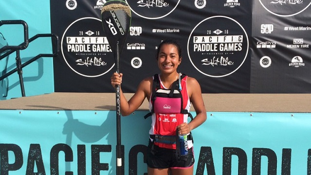 Erika Benitez, a Talent of The Paddle Academy