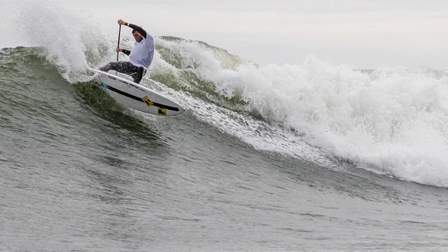 Mo Freita Sup Surfing