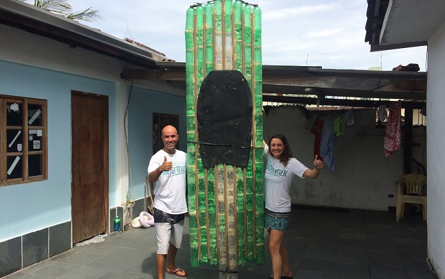 Crossing Europe on a Plastic Bottle SUP: That's Their Challenge