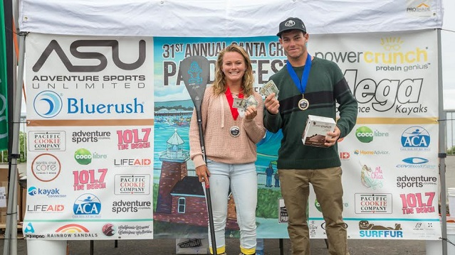 winners of SAnta Cruz Paddle Fest