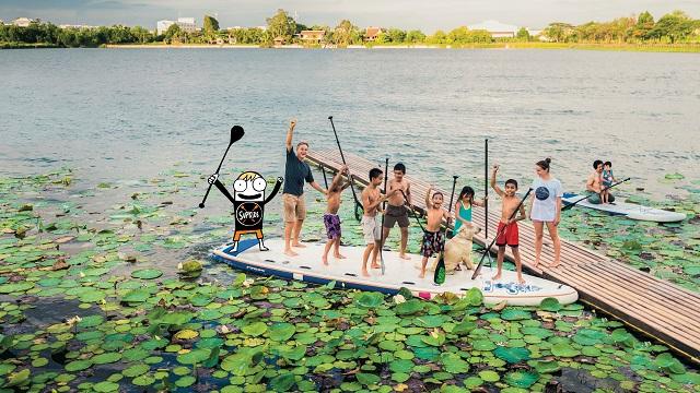 SUPKids – Teaching Kids About Water Safety, Environmental Education Through SUP