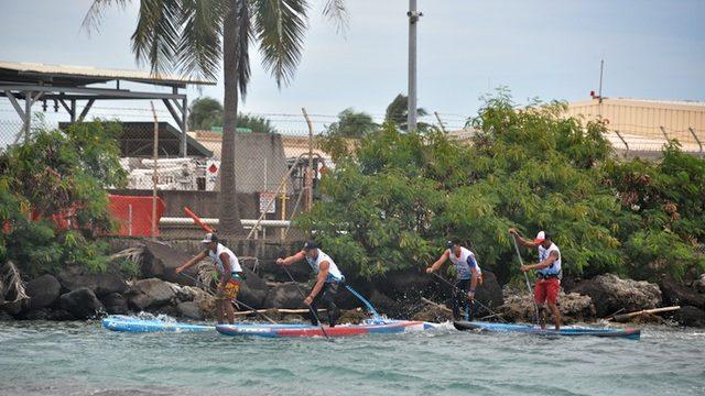 tête de course Elite Race Tahiti