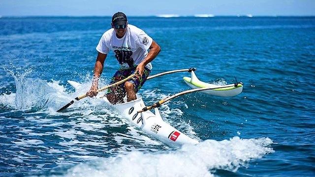 Rete Ebb, Portrait d'un SUP Racer Tahitien