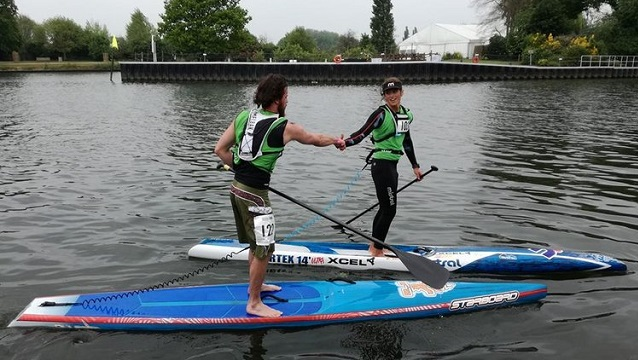 SUP Battle on the Thames