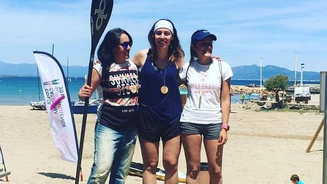 II Costa Catalana SUP Challenge podium women