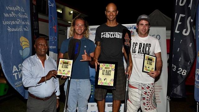 Morgan ZE RACE podium
