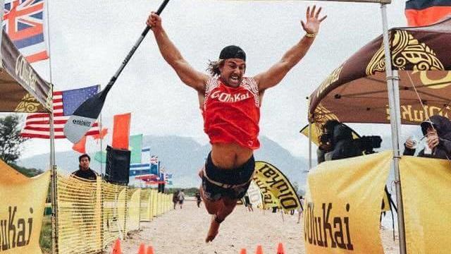 James Casey finish line