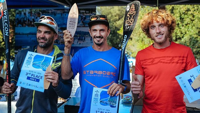 Porec podium men