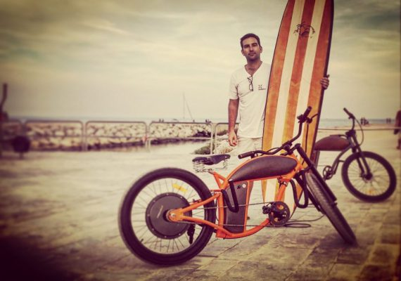 SUP Designer Mathieu Rauzier Reinvents Beach Cruising with the Rayvolt Cruzer