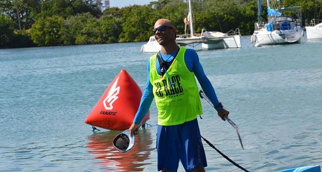 Vainqueur de ZE RACE Romuald Mamadou