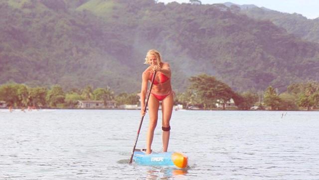Sonni Tahiti SUP
