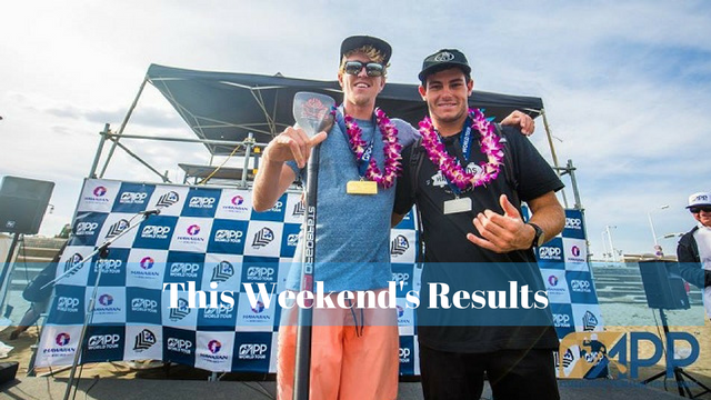 This Weekend's Results: APP World Tour's Japan Pro Am, Paddle Imua, Battle of the Thames…