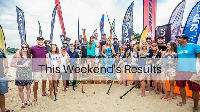 This Weekend's Results: Dordogne Intégrale, Hossegor Paddle Games, UKSUP Thames Ultra Endurance Race…