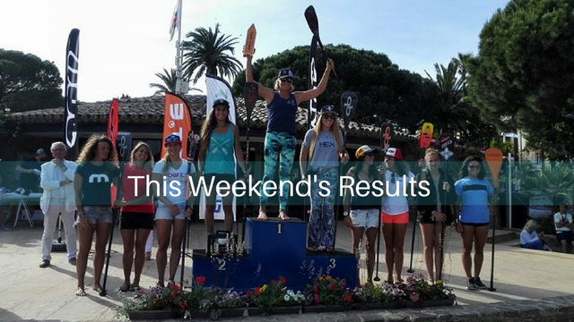 This Weekend's Results: The SUP Race CUP, II Costa Catalana SUP Challenge…