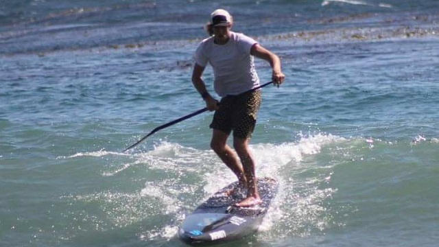 Toby winning at Malibu