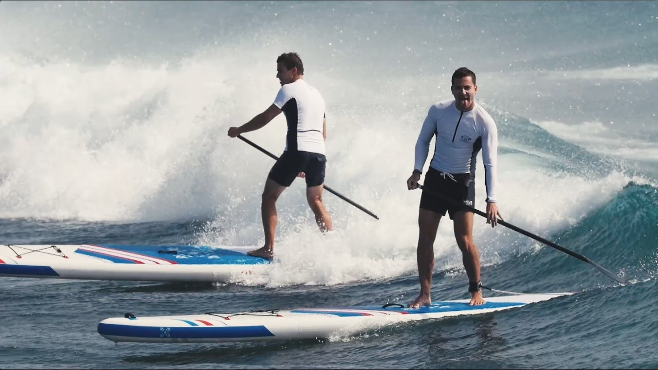 Les Teulade Brothers aux Canaries avec Oxbow SUP