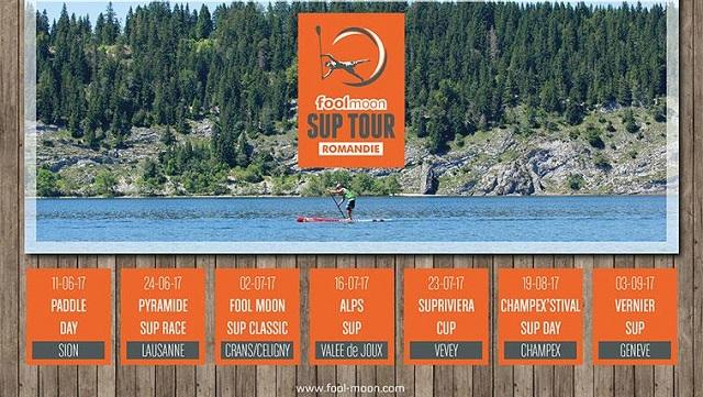 FoolMoon SUP Tour Romandie : Une Nouvelle Édition Très Prometteuse