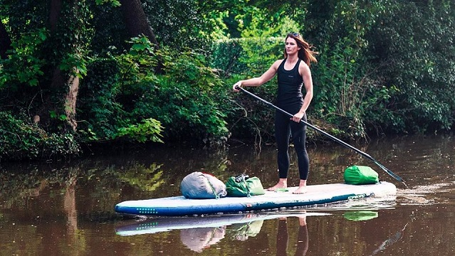 Lizzie Carr SUP River
