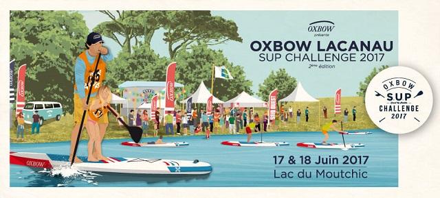 Prenez Part à l'Oxbow Lacanau SUP Challenge !