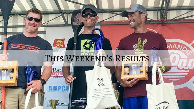 This weekend's results: WPA Paddle Championships, Thonon SUP Race…