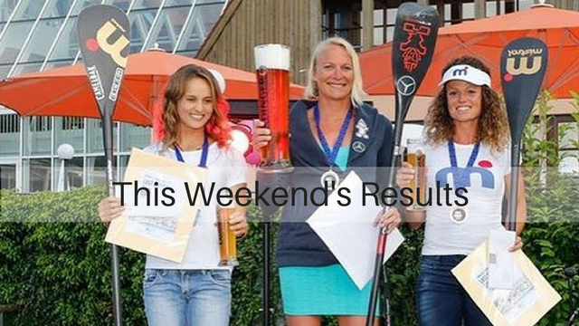 This Weekend's Results: San Sebastian Paddle Tour, The Lost Mills, OXBOW Lacanau SUP Challenge…
