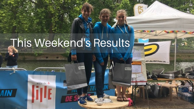 This Weekend's Results: Riviera SUP Race, Hawaii WPA National Race, Lille Paddle Race