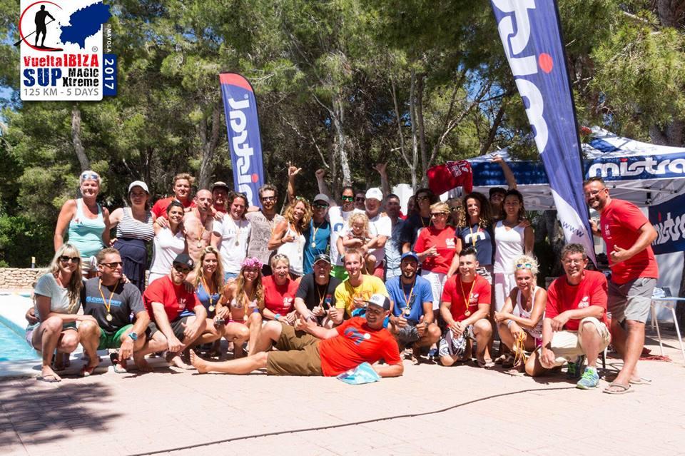 Vuelta Ibiza SUP