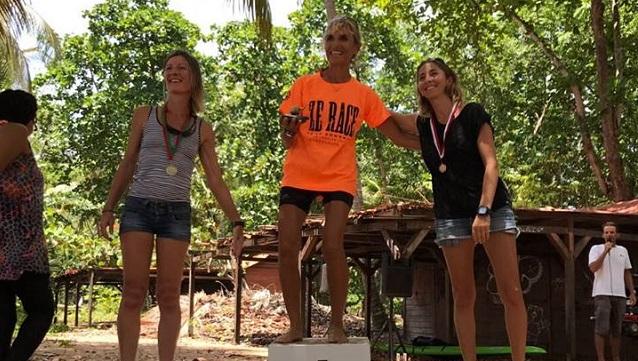 championnat Guadeloupe Podium Femme