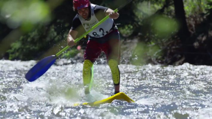 Down River SUP Sprint at the GoPro Mountain Games