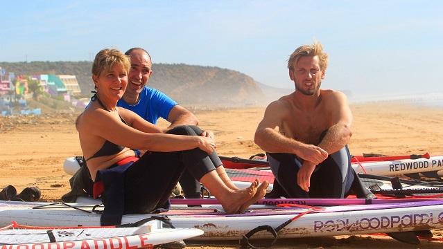 Du SUP Surf au Maroc avec L'Agadir SUP Center et REDWOODPADDLE !