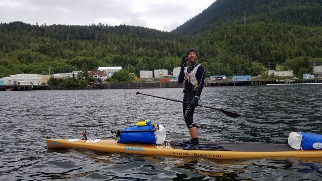 Interview with Karl Kruger, First Paddler to Finish the Race