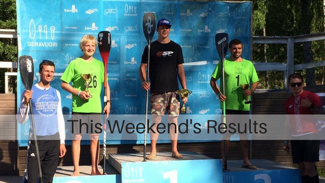 This Weekend's Results: The Maui2Molokai, The Bridge2Bridge Paddle, The V Sieravuori SUP Masters…
