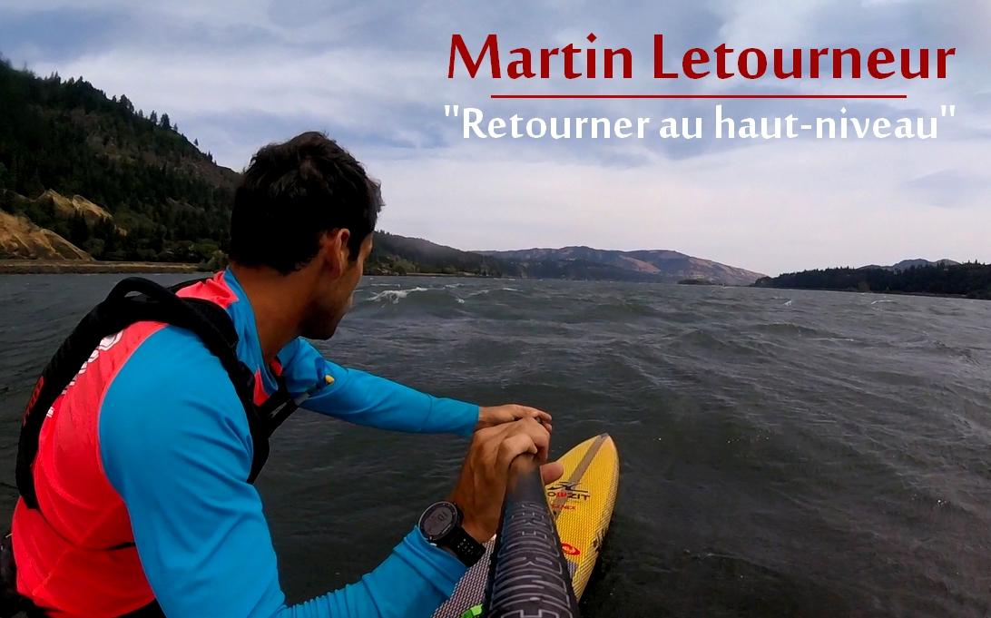 Martin Letourneur de Retour sur le Circuit SUP Race !