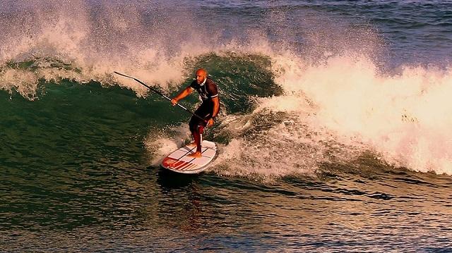 SUP Surf dans les Pyrénées-Atlantiques avec François Boussaha de REDWOODPADDLE !