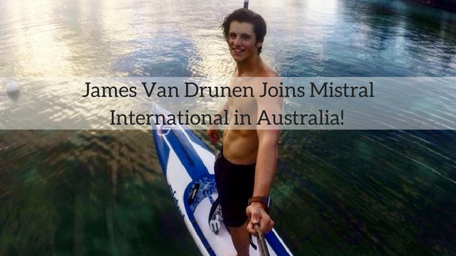 James Van Drunen Joins Mistral International in Australia!