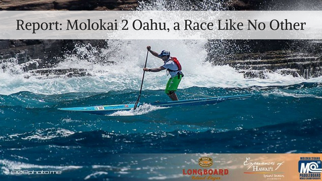 Report: Molokai 2 Oahu, a Race Like No Other