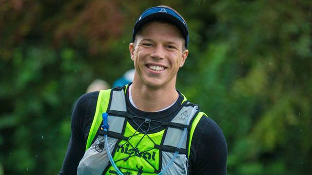Daniel Hasulyo smiling at the 2017 SUP 11 City Tour in The Netherlands