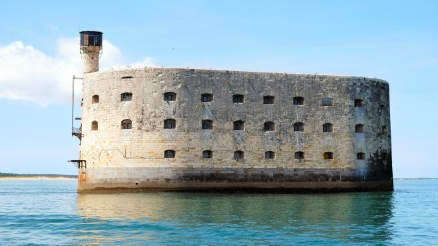 The famous Fort Boyard, centrepiece of the annual challenge of the same name